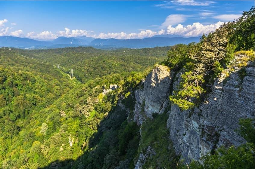 Орлиные скалы Сочи - фото