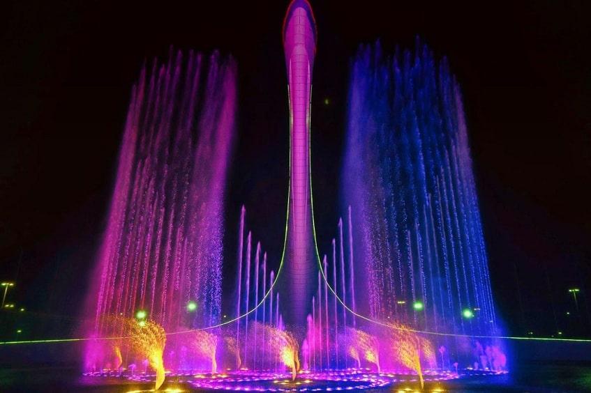 Поющие фонтаны - фото