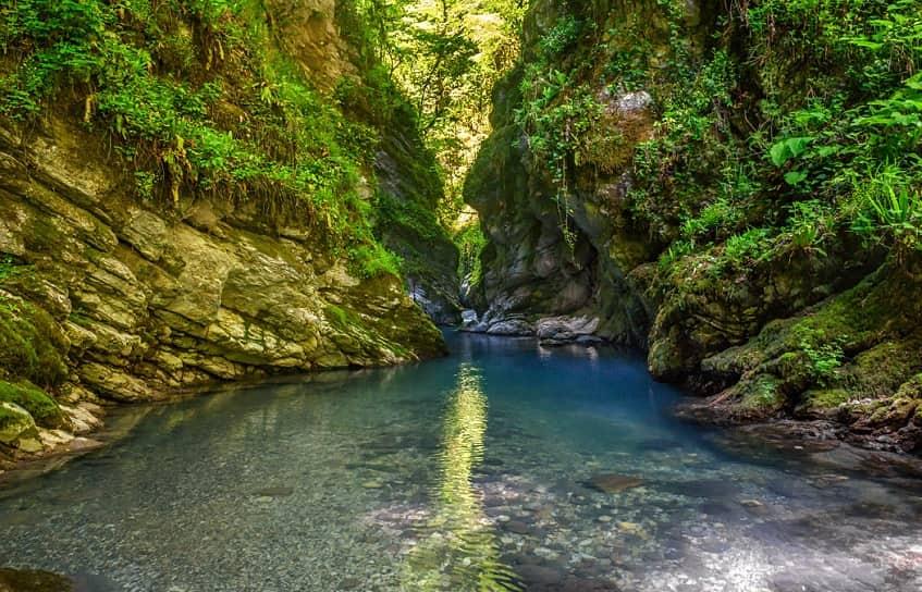 Агурское ущелье - фото
