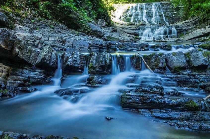 Чарующая красота Змейковских водопадов - фото