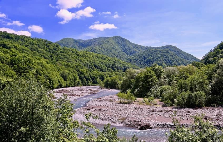 Долина Шахе - фото
