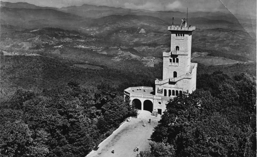 Дорога к смотровой башне - фото