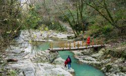 Дорога к водопадам - фото