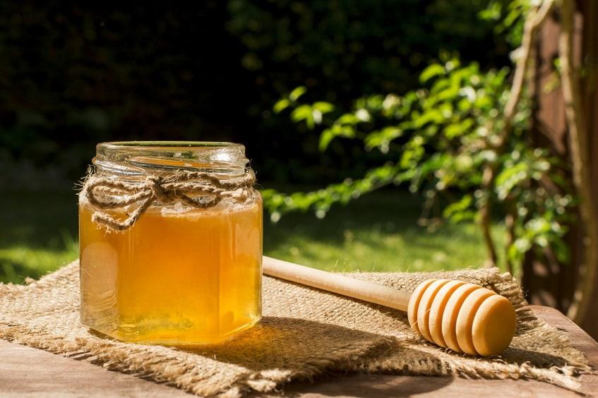 Мёд с пасеки - фото