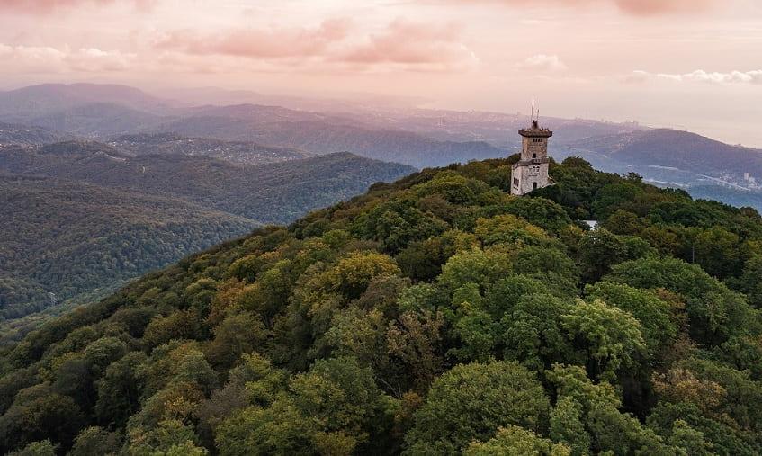 Необыкновенная красота горы - фото