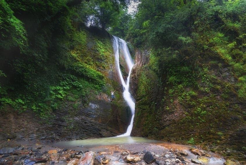 Ореховский водопад в Сочи - фото