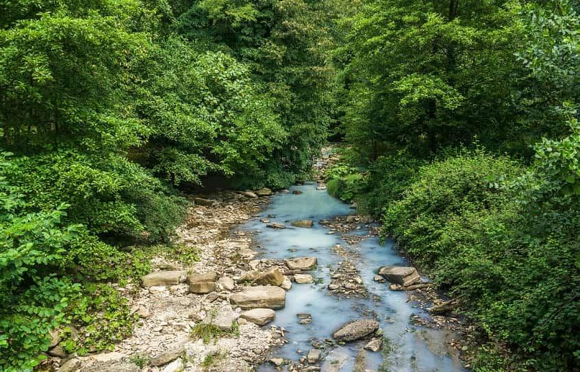 Река Агура - фото