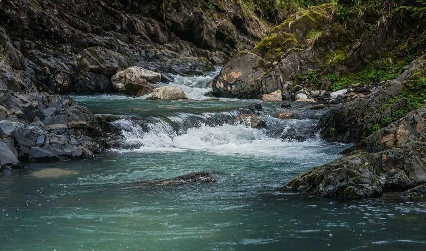 Река Змейка в Сочи - фото