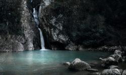 Вечерняя красота водопада - фото