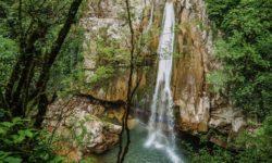 Верхний Агурский водопад - фото