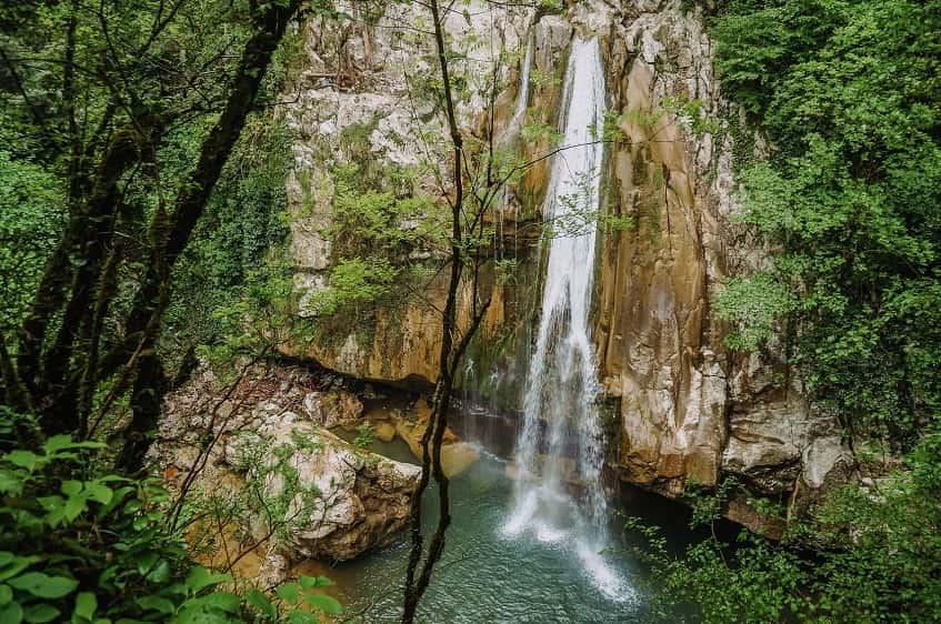 Агурские водопады в Сочи - фото