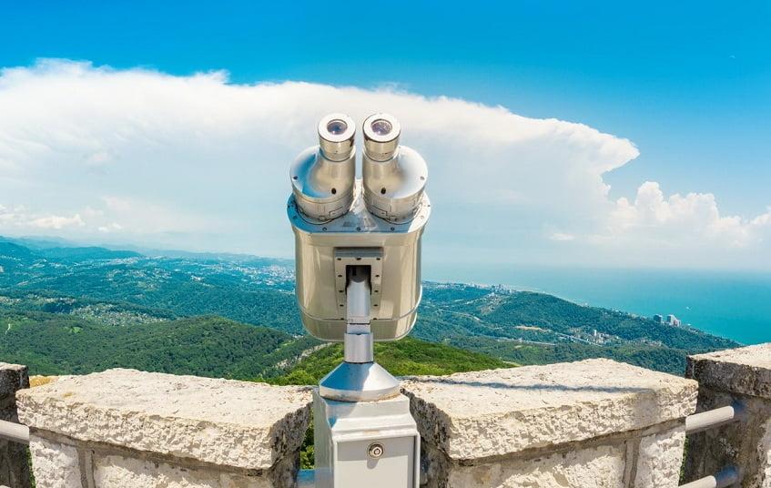 Вид с площадки Смотровой башни - фото