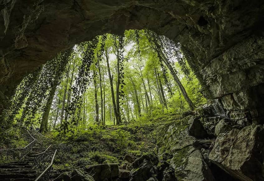 Воронцовские пещеры в Сочи - фото