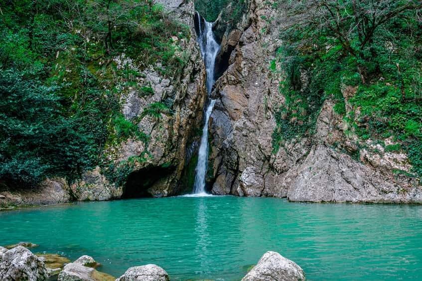 Агурские водопады - фото