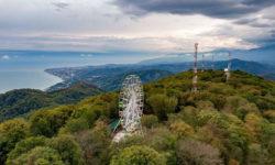 Колесо обозрения на горе Ахун - фото