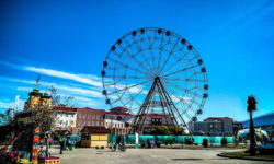 Колесо обозрения в Сочи парке - фото