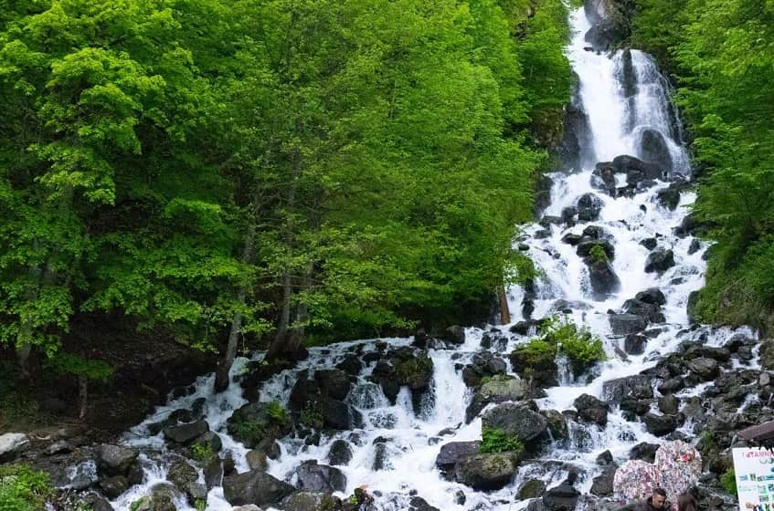 Молочный водопад - фото