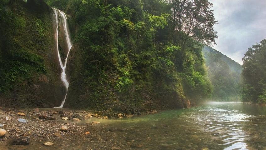 Ореховский водопад - фото