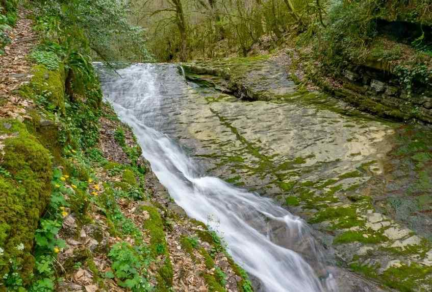 Райский водопад - фото