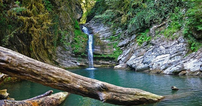 Самшитовые водопады - фото