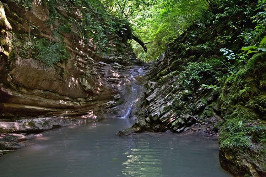 Водопад Коса Русалки - фото