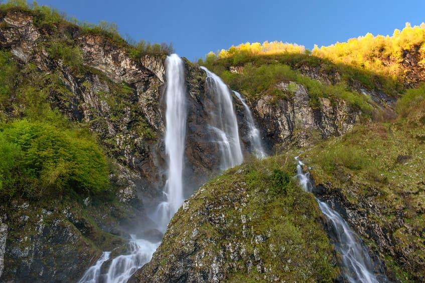 Водопад Поликаря (Штаны) - фото