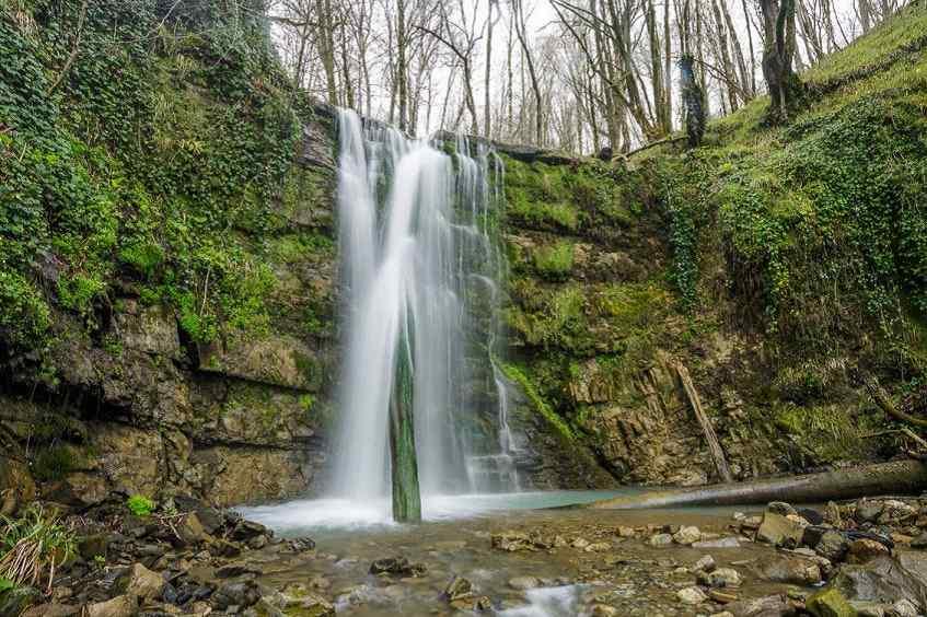 Водопад Серебряный - фото