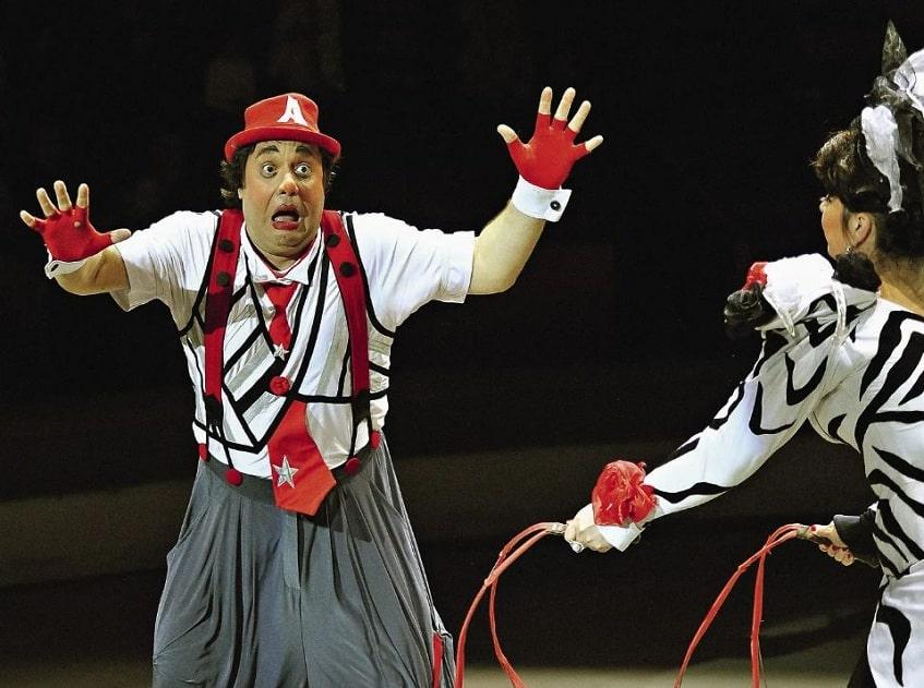 Клоуны Арто и Стелла - фото