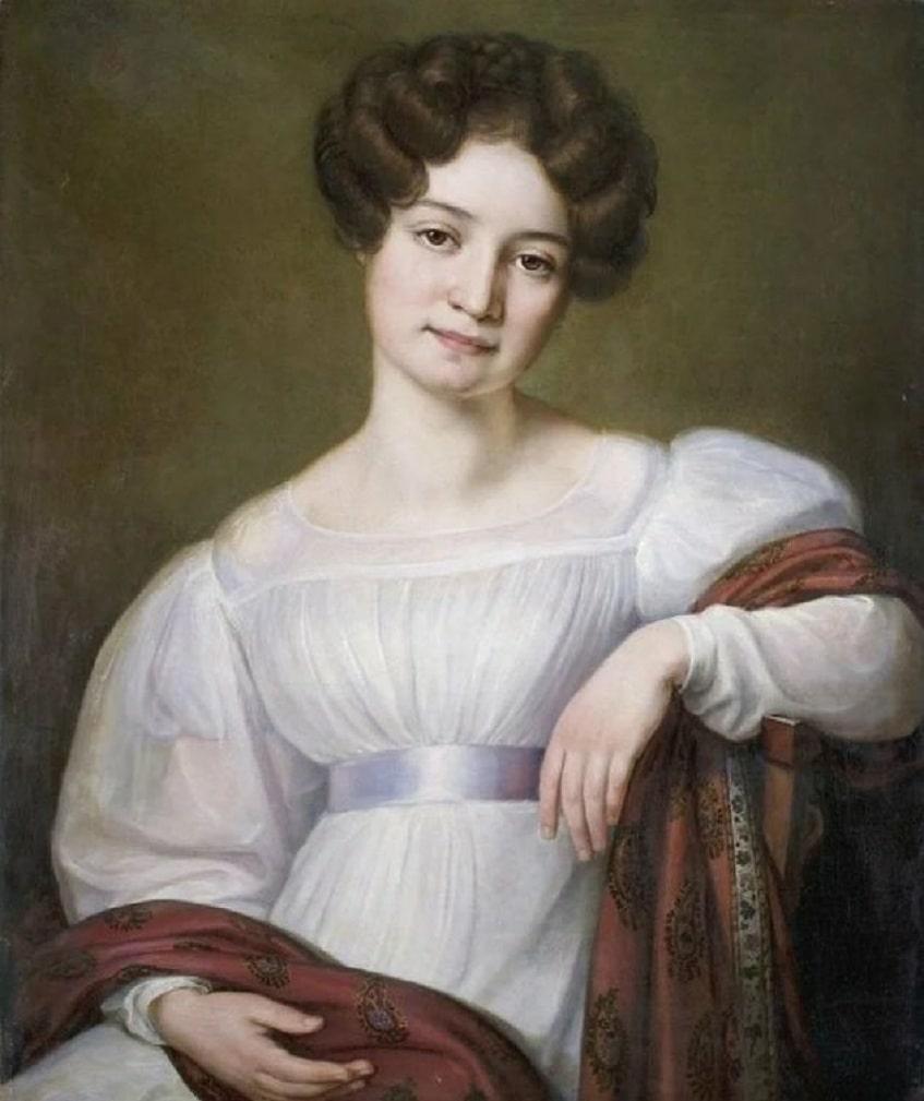 Княгиня Мария НиколаевнаВолконская - портрет