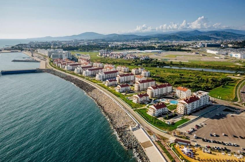 Олимпийская деревня - фото