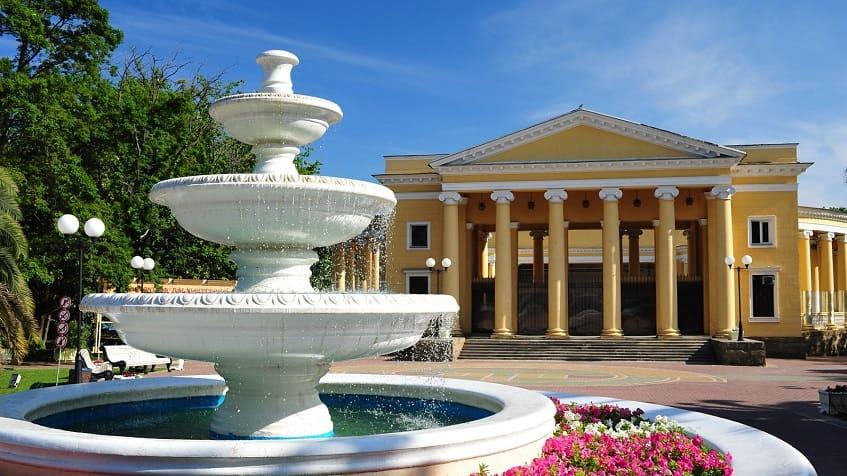 Парк Фрунзе на Черноморской - фото