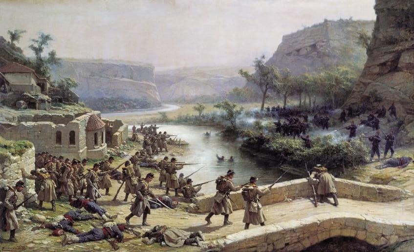 Русско-турецкая война - иллюстрация