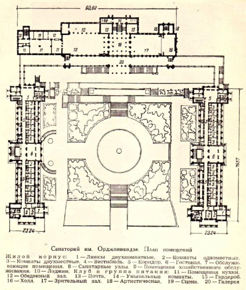 Санаторий имени Орджоникидзе - фото