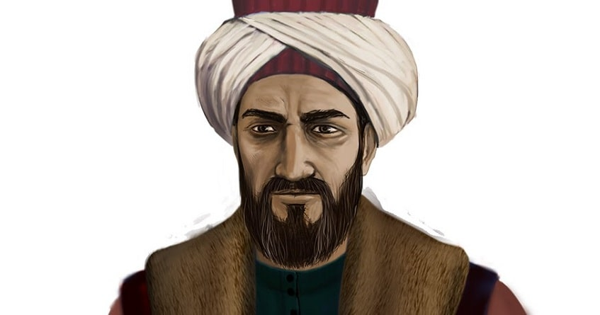 Турецкий географ и историк Эвлия Челеби - иллюстрация