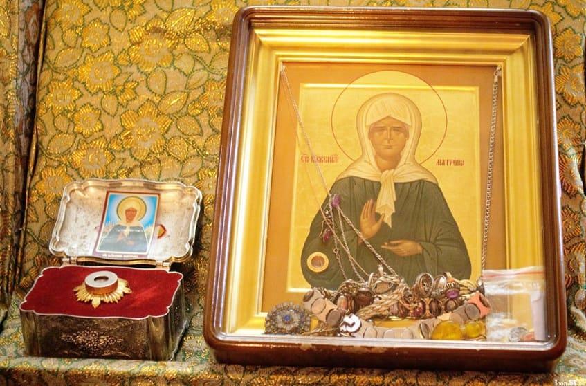 Икона Святой Матроны Московской - фото