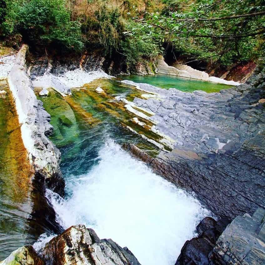 Комплекс озер, порогов и водопадов - фото