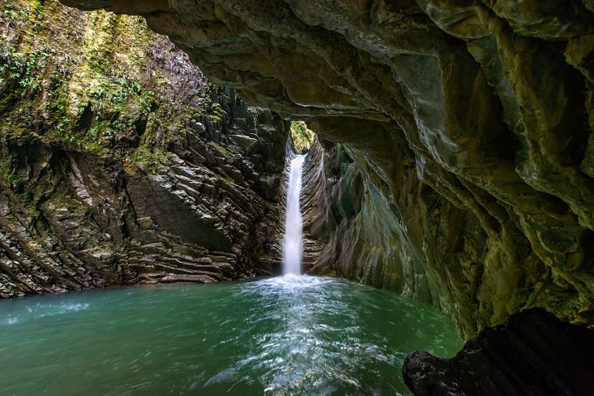 Свирский водопад - фото