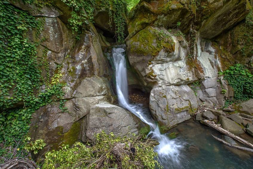 Водопад Адам и Ева - фото