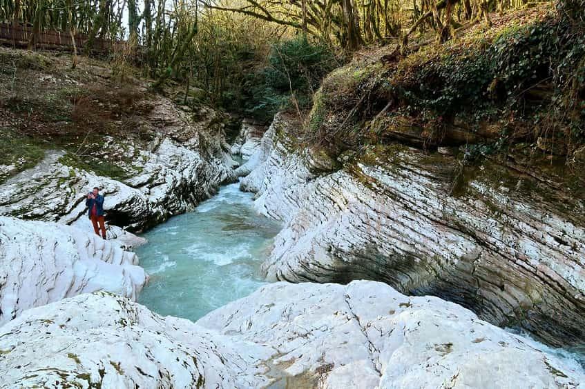 Каньон реки Псахо - фото