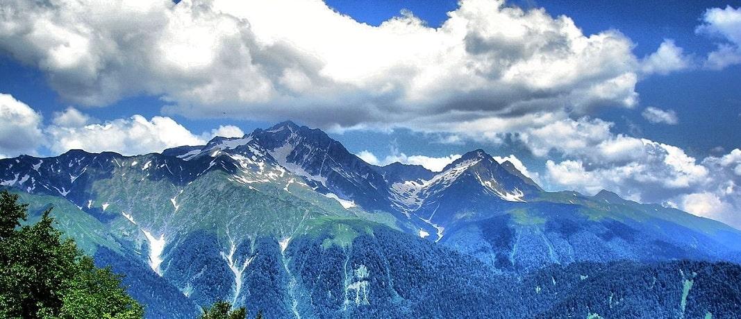 Горы Сочи - фото