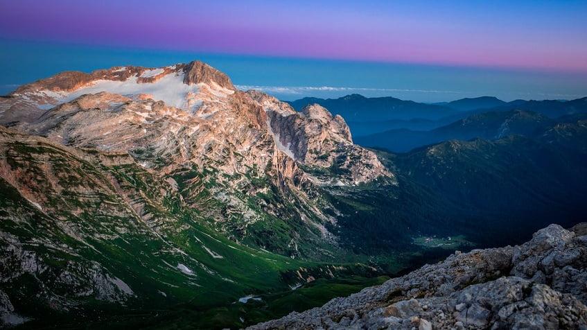 Ландшафт горы Фишт - фото