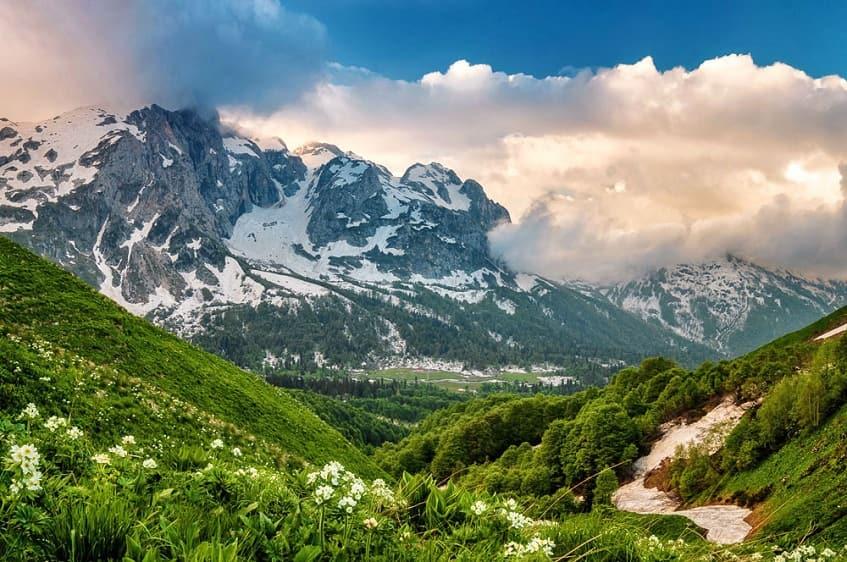 Необыкновенной красоты природа - фото
