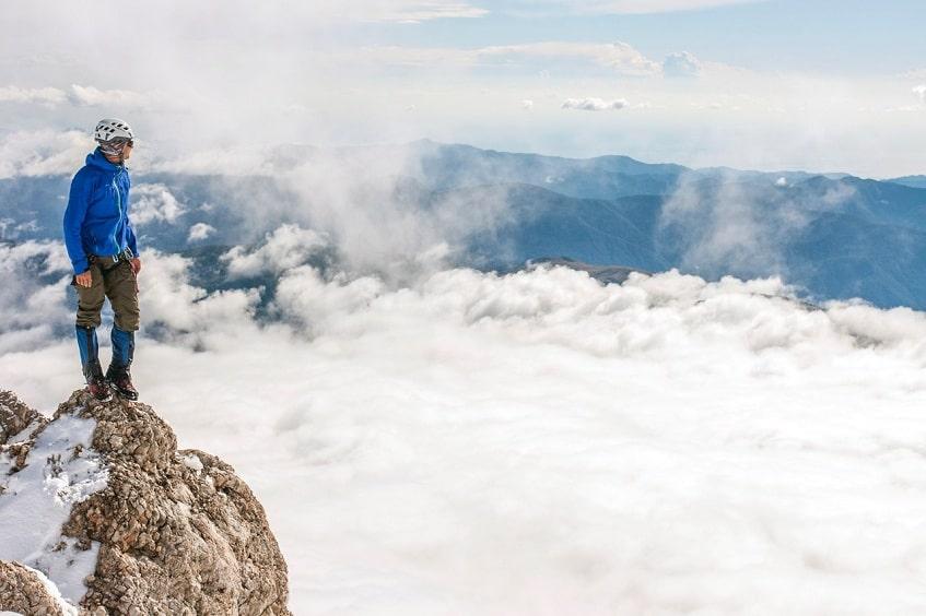 Океан из облаков - фото