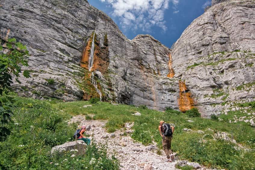 Пшехский водопад - фото