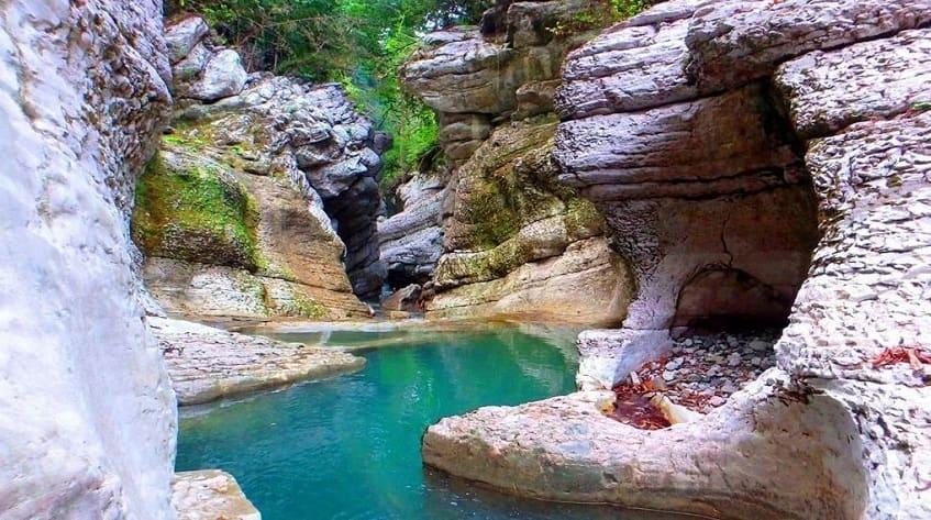 Сказочный каньон - фото