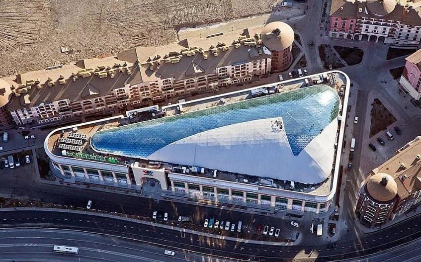 ТРЦ Горки MALL с высоты - фото