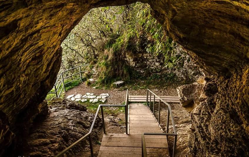 Вид на ущелье Ахцу - фото