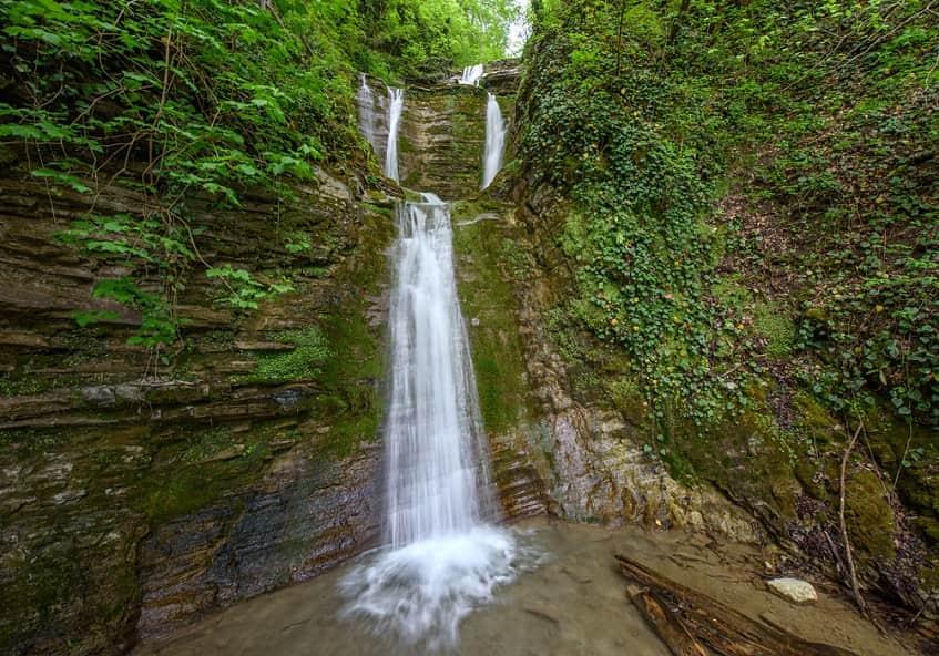 Водопад Шапсуг - фото