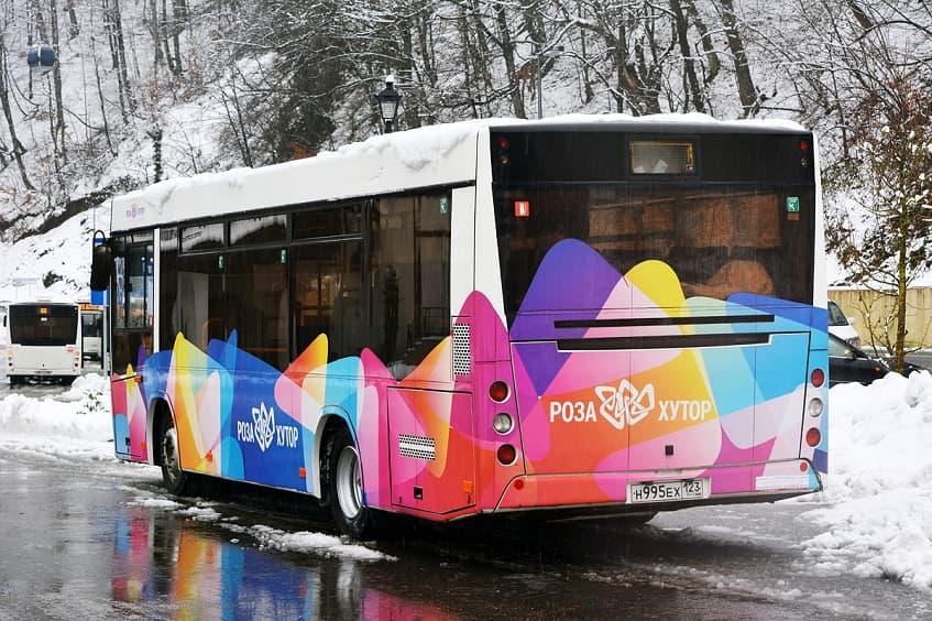 Автобус до Розы Хутор - фото