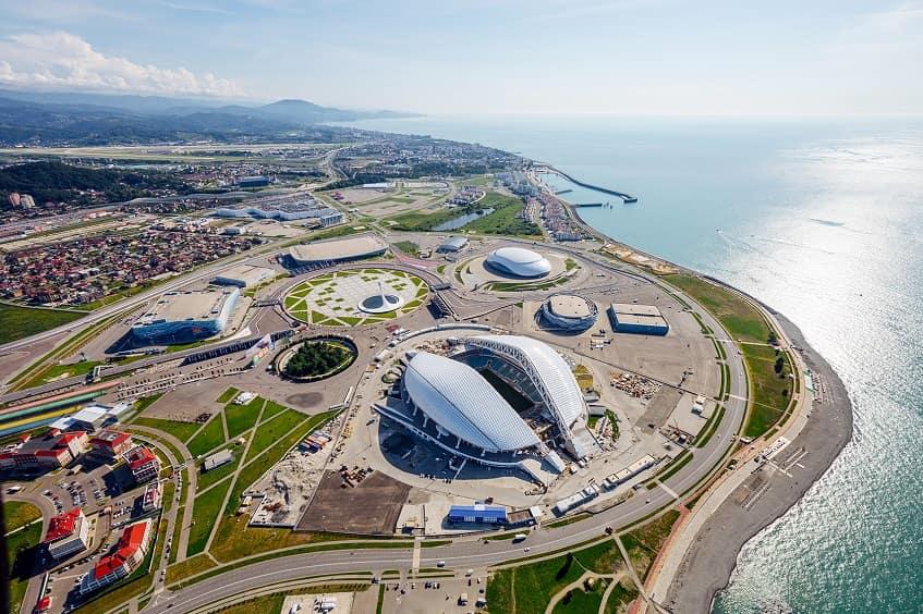 Олимпийский парк - фото